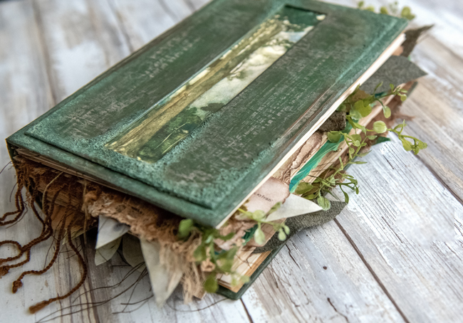 Edge Papers of Forest Lore Junk Journal