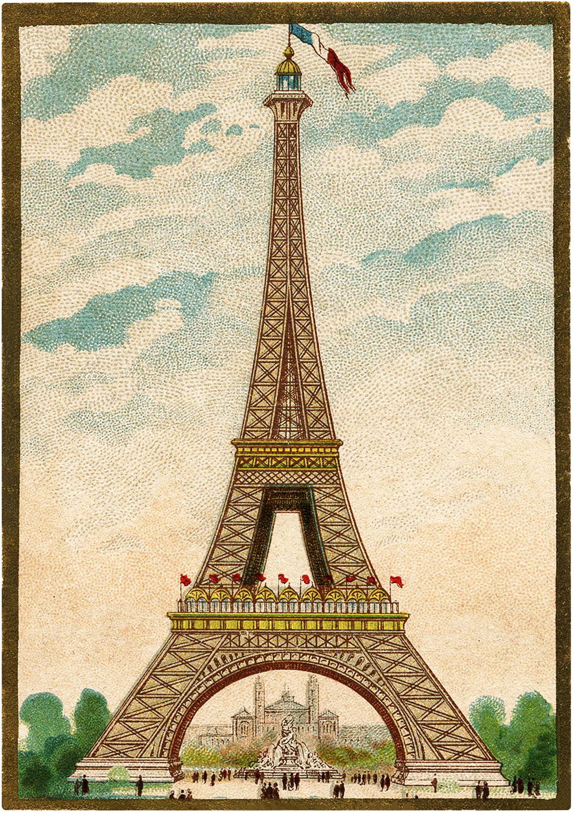 French-Eiffel-Tower-Images-GraphicsFairy