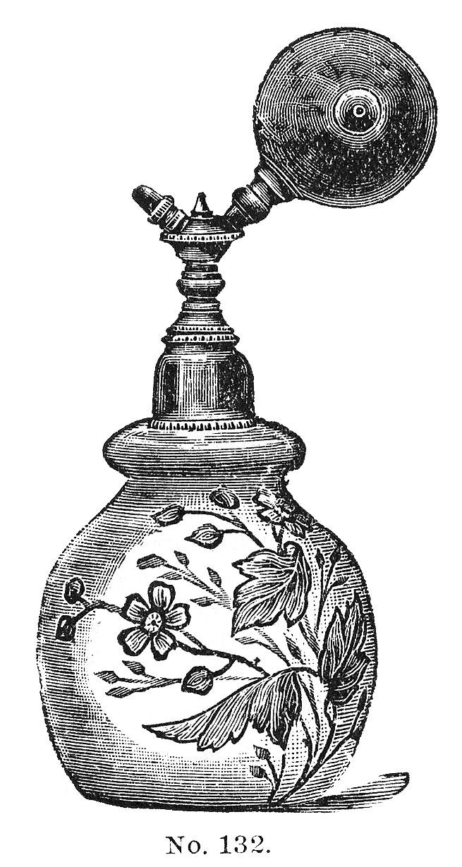 Garden Perfume Bottle