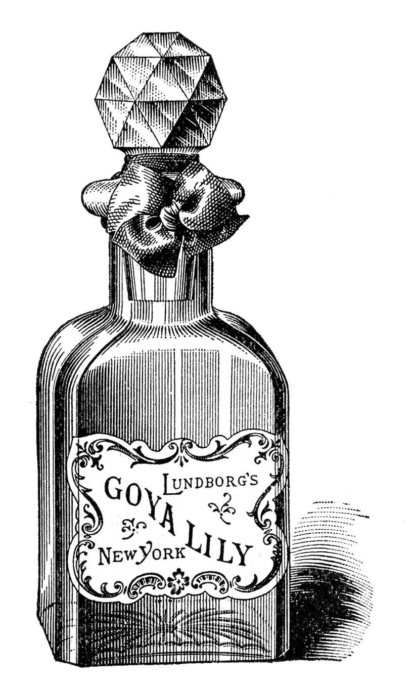 Goya Lily Perfume Bottle