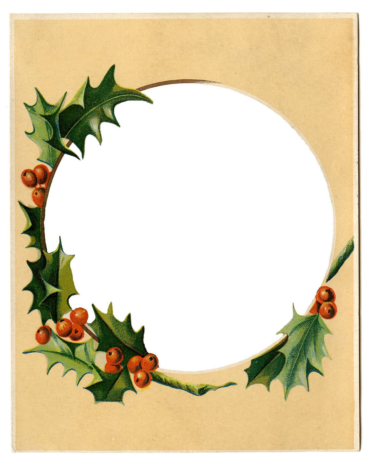 Holly-Frame-Winter-Clipart-GraphicsFairy