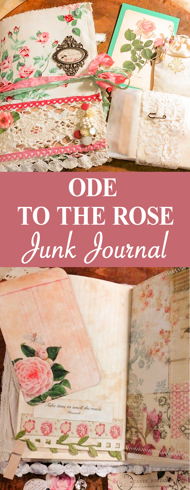 Ode to the Rose Pin