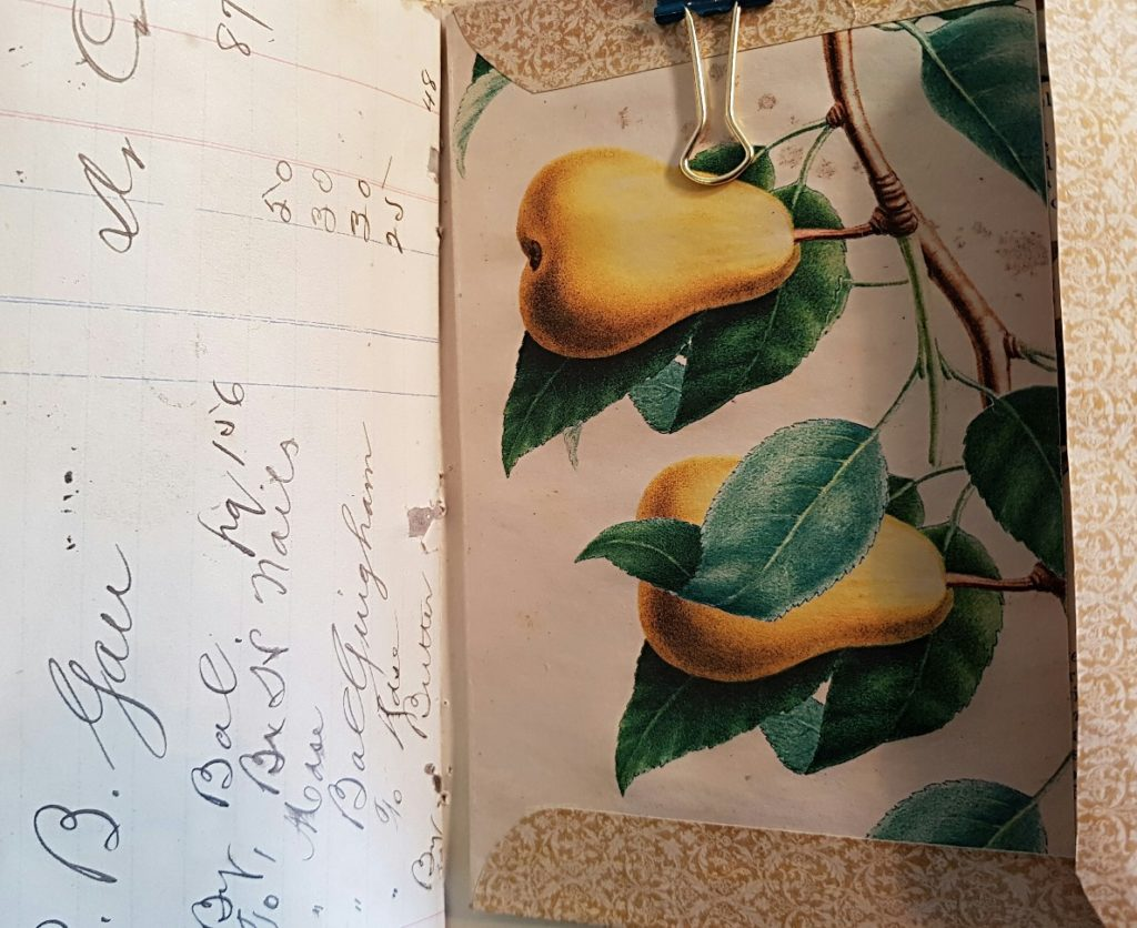 Pocket with Pears