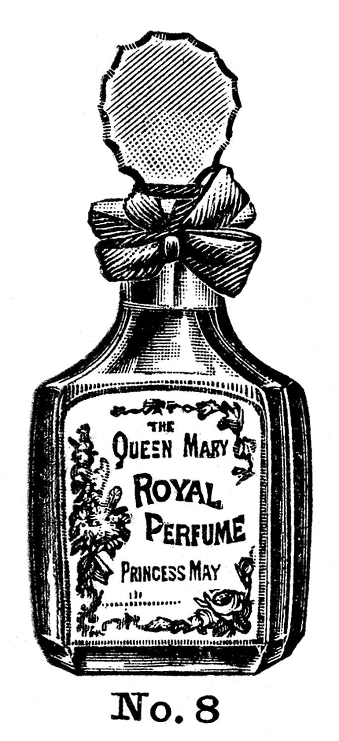 Queen Mary Royal Perfume Vintage