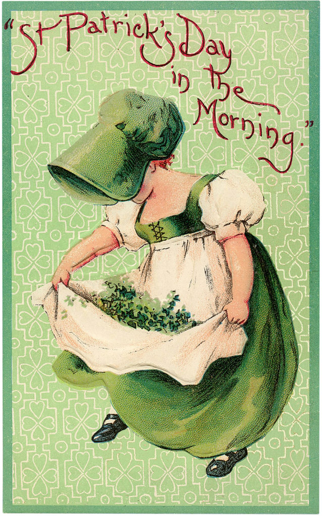 St Patrick's Day Girl Image