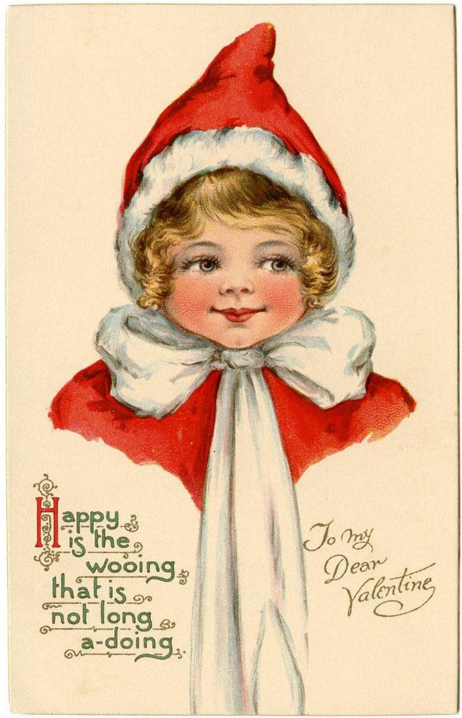 Valentine Elf Girl