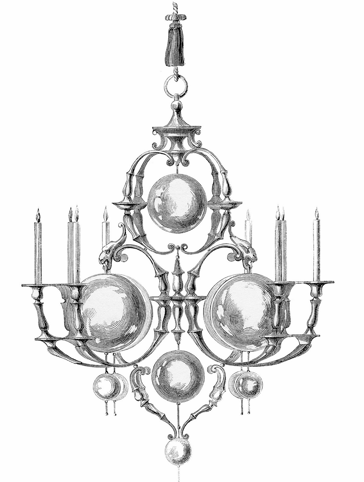 Vintage Bubble Chandelier Image
