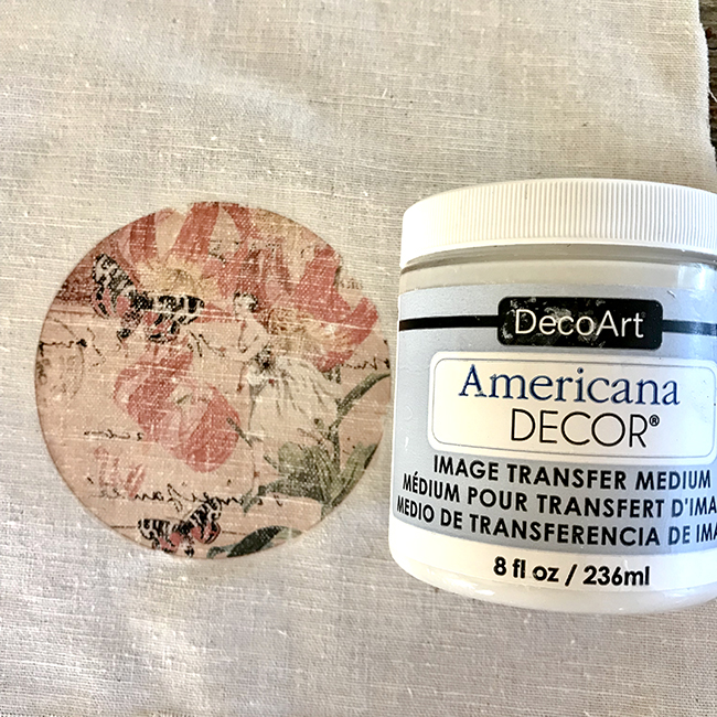 DecoArt Image Transfer to Fabric