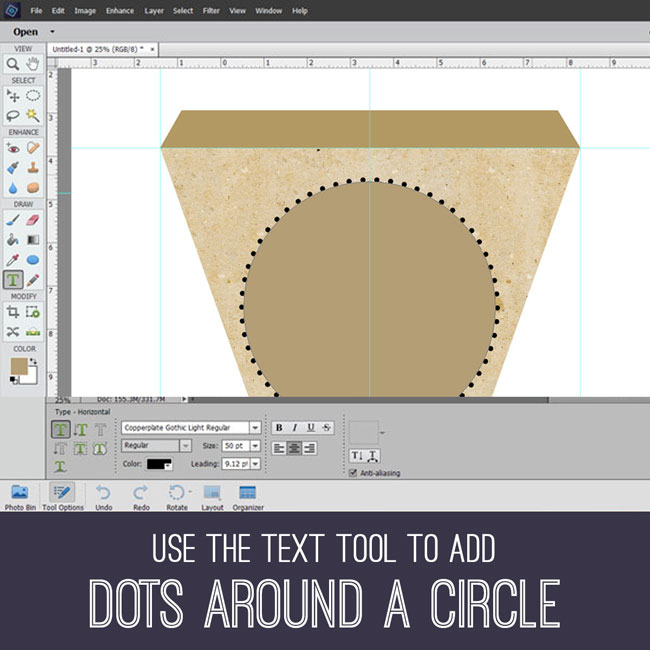 Photoshop Tutorial Dots