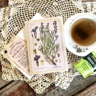 Herb Tea Mixed Media Gift Card 2