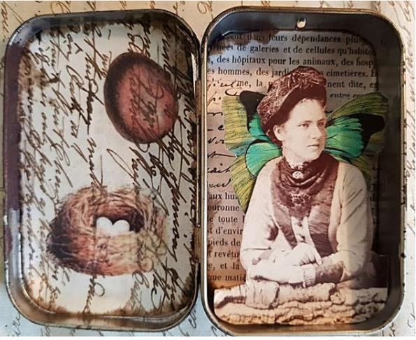 Kelly Altered Art Tin