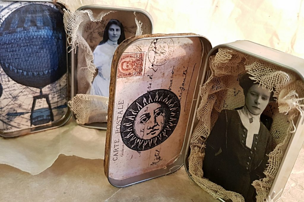 Altered Altoid Tin Shadowbox Craft Project