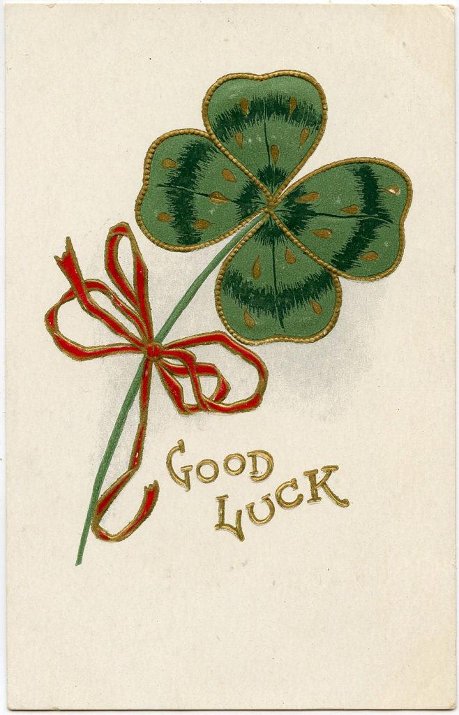 St Patrick's Day 4 Leaf Clover
