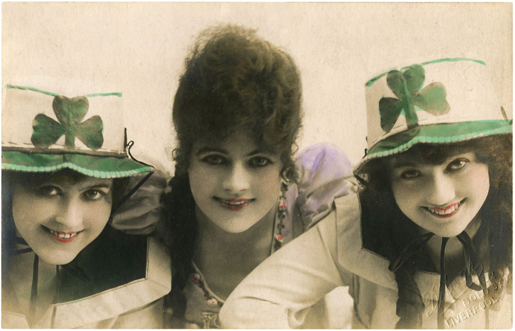 St Pats Day Ladies Group Image