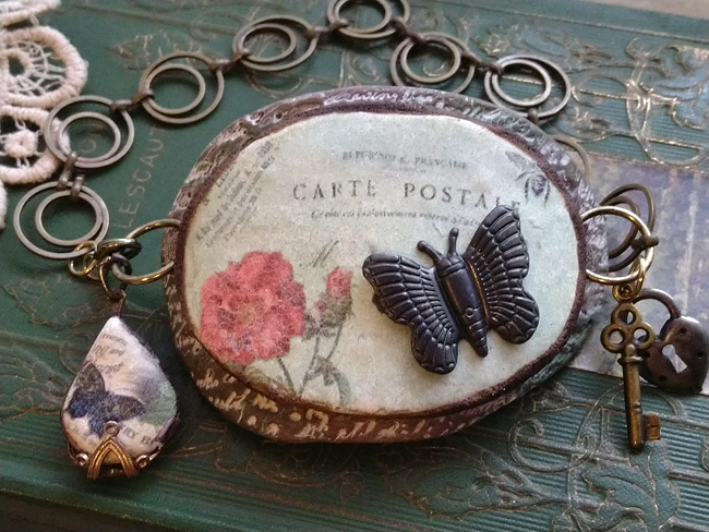 Rosemary and Butterfly Bracelet