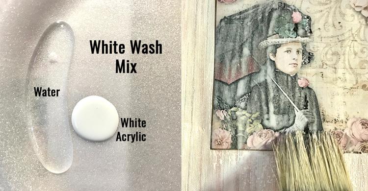 White Wash Mixture