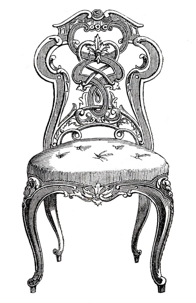 Victorian Chair Image