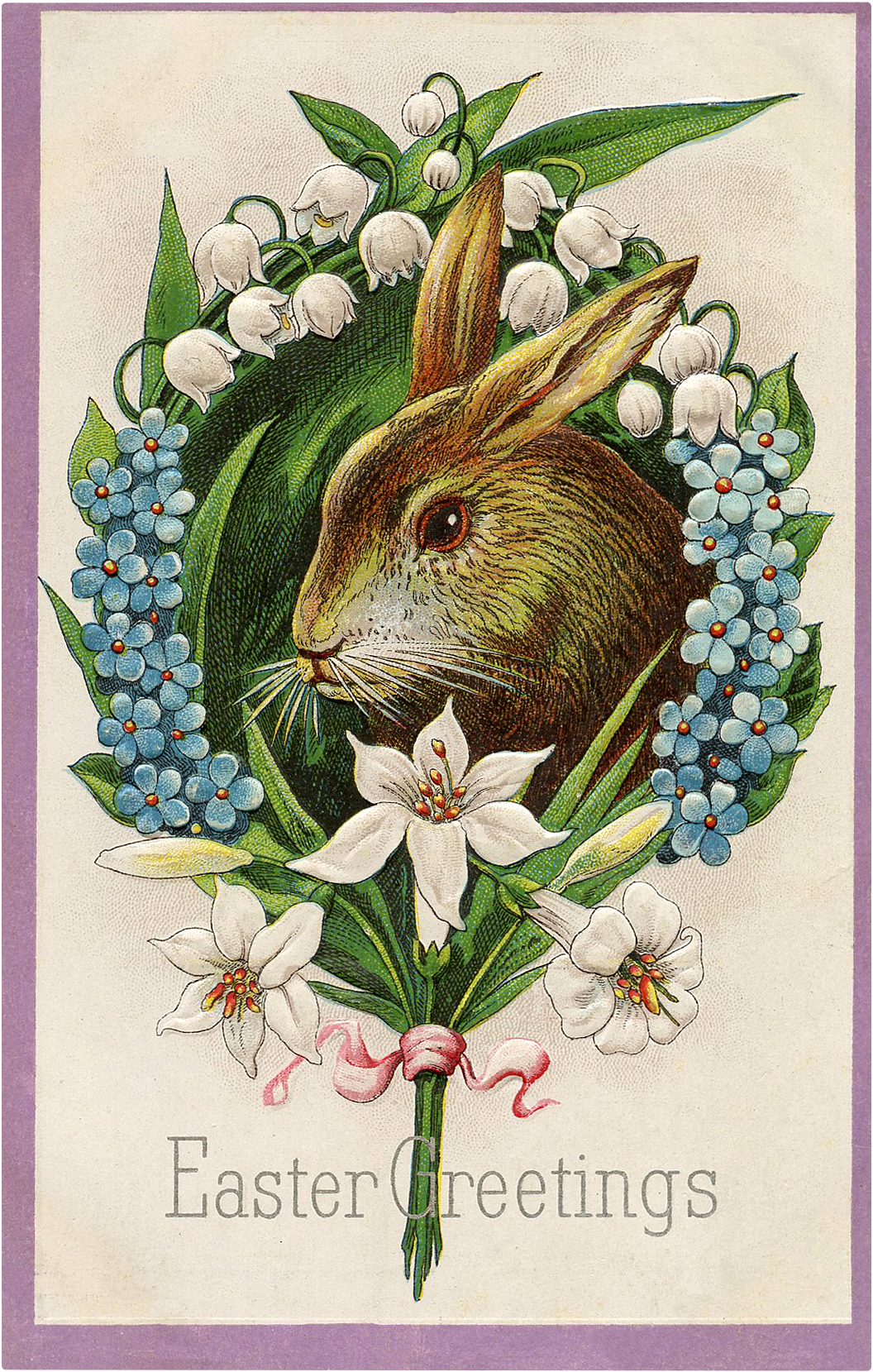 22 Easter Bunny Images Free - Updated! - The Graphics Fairy