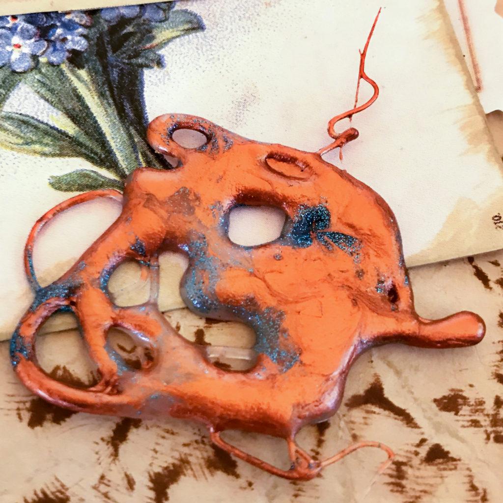 Copper Glue Embellishment