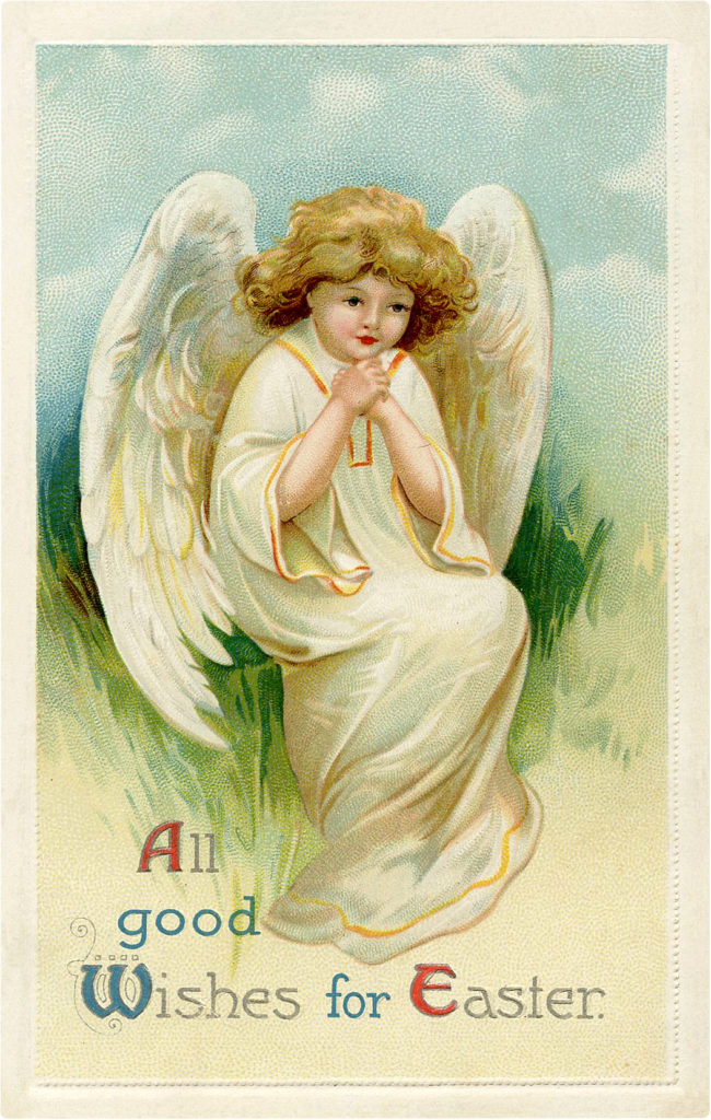 Easter Angel Picture