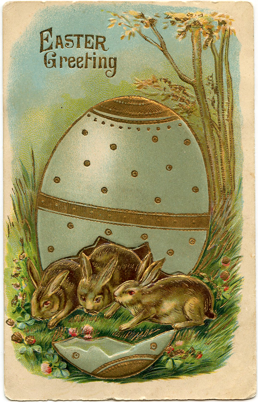 vintage easter bunny clipart free vintage easter clipart 16 - The Easter  Bunny.Org