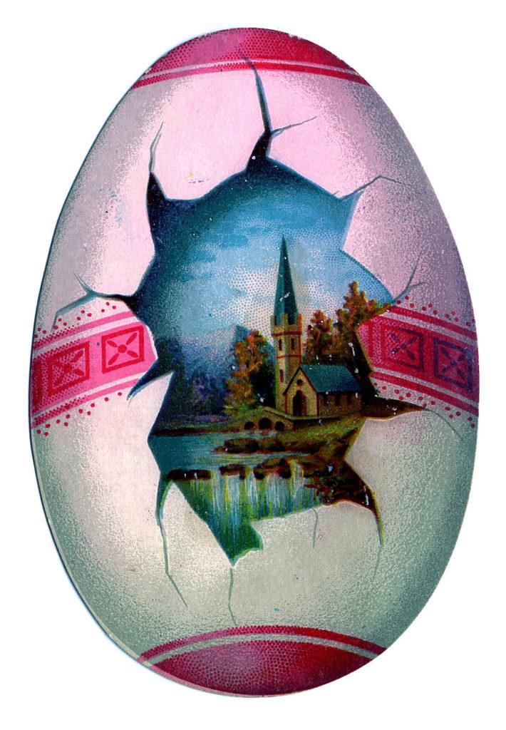 Easter Egg Scene