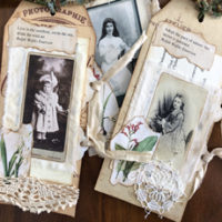 Vintage Portrait Tags feature