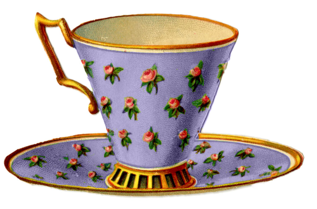 Teacup Rose Lavender Image
