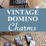 Vintage Domino Charms Mixed Media