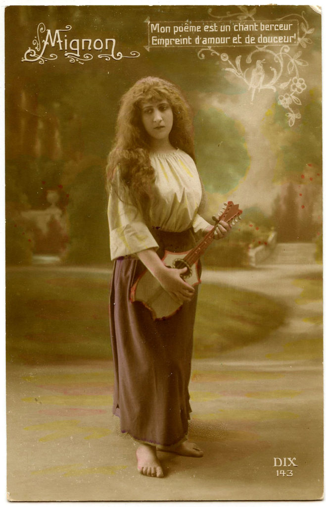 Bohemian Romni Lady Image