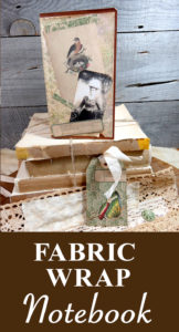 Fabric Wrap Notebook pin
