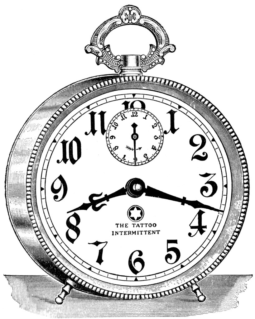 Fancy Vintage Alarm Clock Image