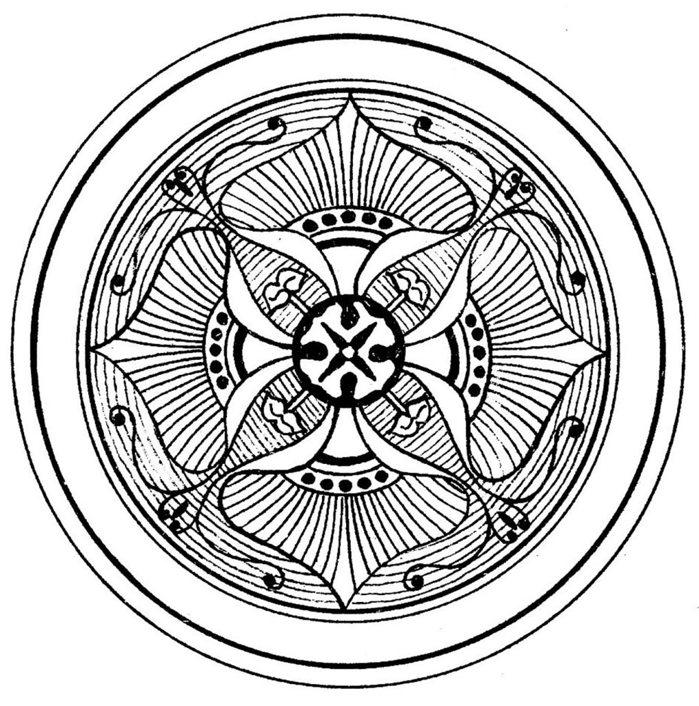 Medallion Ornamental Graphic