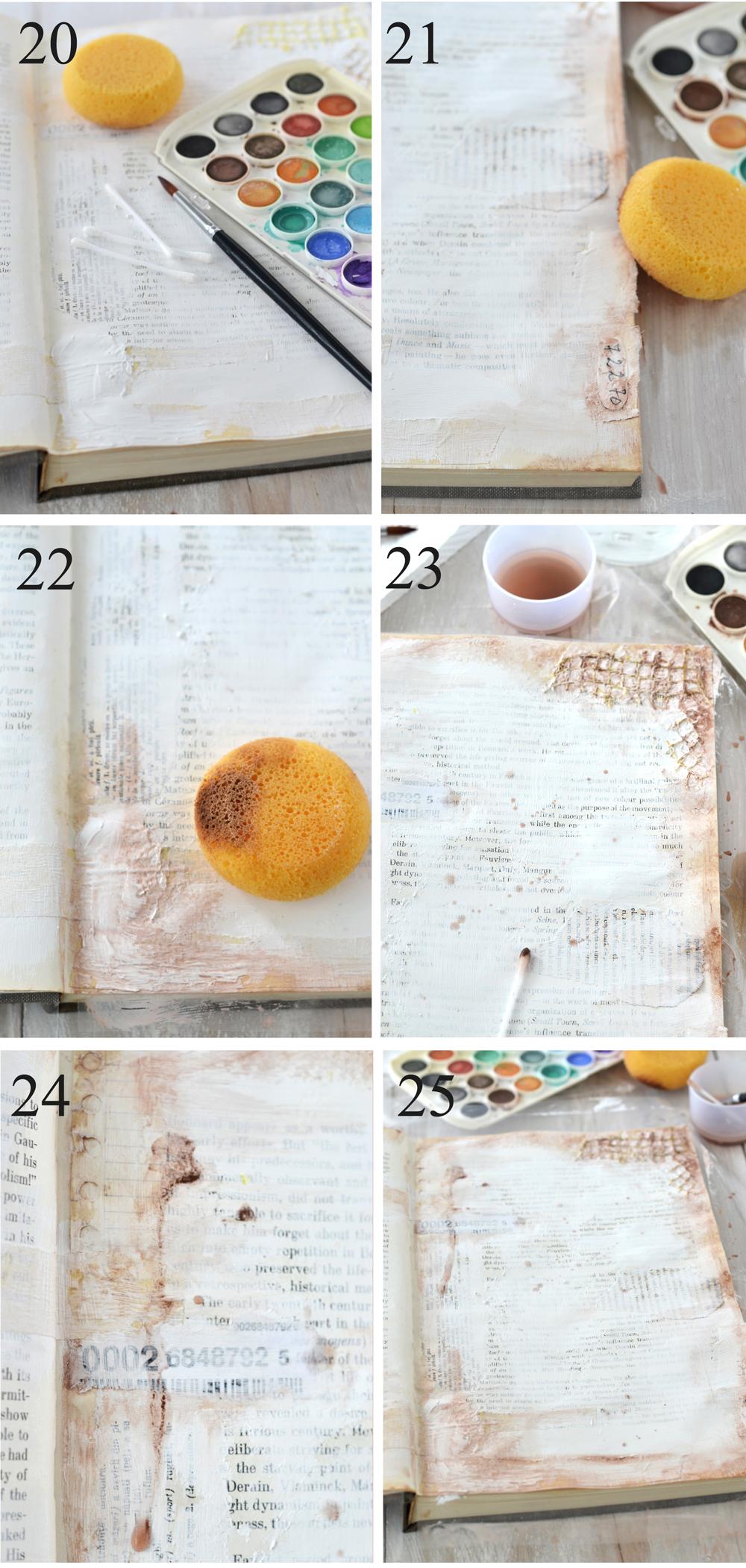 DIY Vintage French Altered Book Journal