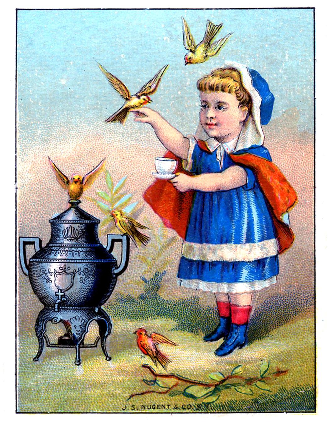 tea+girl+vintage+image+graphicsfairy006