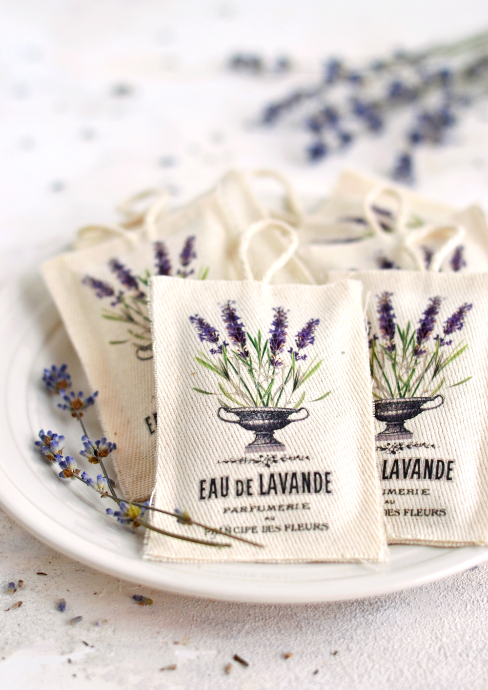 Diy No Sew Lavender Sachets Free Printable The Graphics