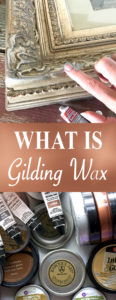 GIlding Wax pin