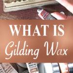 GIlding Wax pin