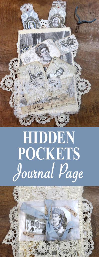 Hidden Pockets Journal Page pin