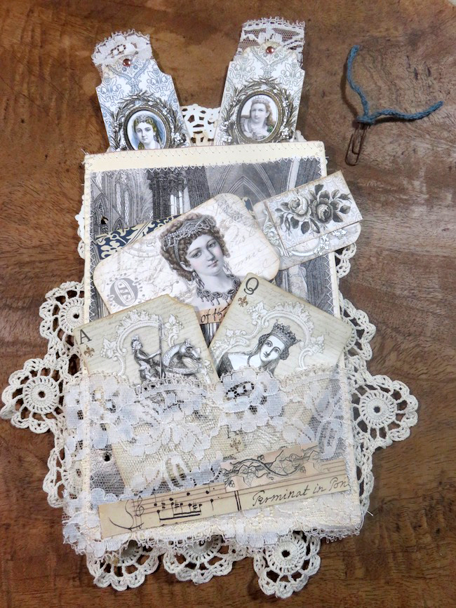 Lacy Junk Journal Starter Page HERO