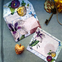 Floral Mail Art Feature