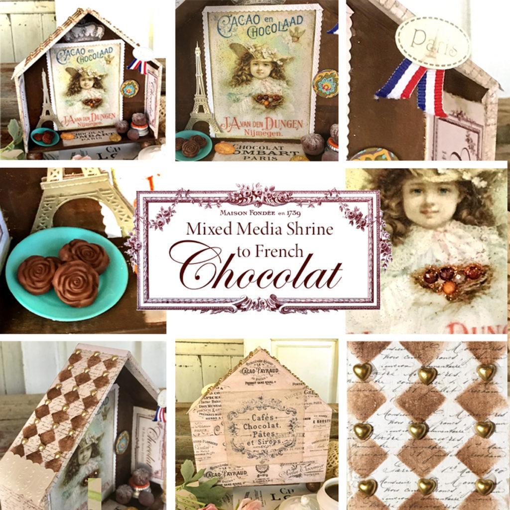 Finishing Details of Shrine to French Chocolate