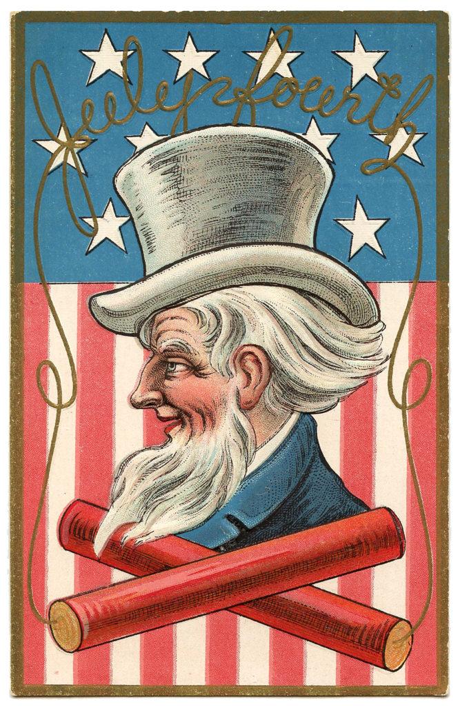 Uncle Sam Color Images