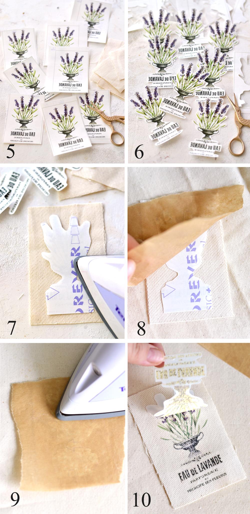 Next steps no sew sachets