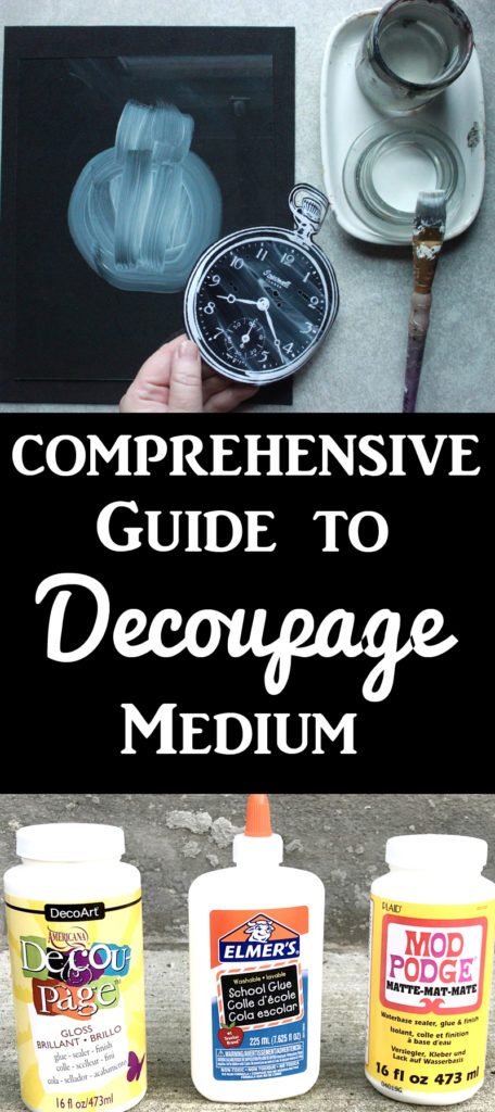 Comprehensive Guide to Decoupage Glue and Mediums