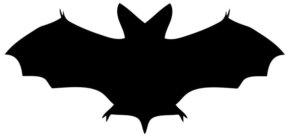 Halloween Bat Silhouette