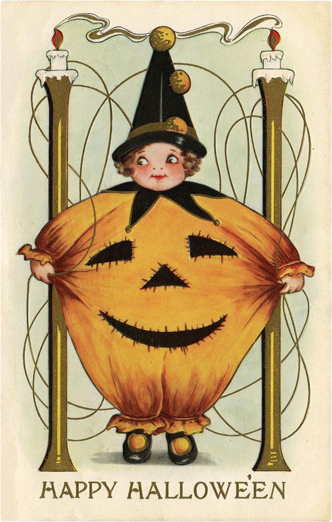 halloween costume vintage image