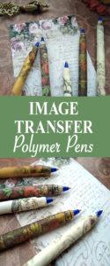 Image Transfer Polymer Pens Pin