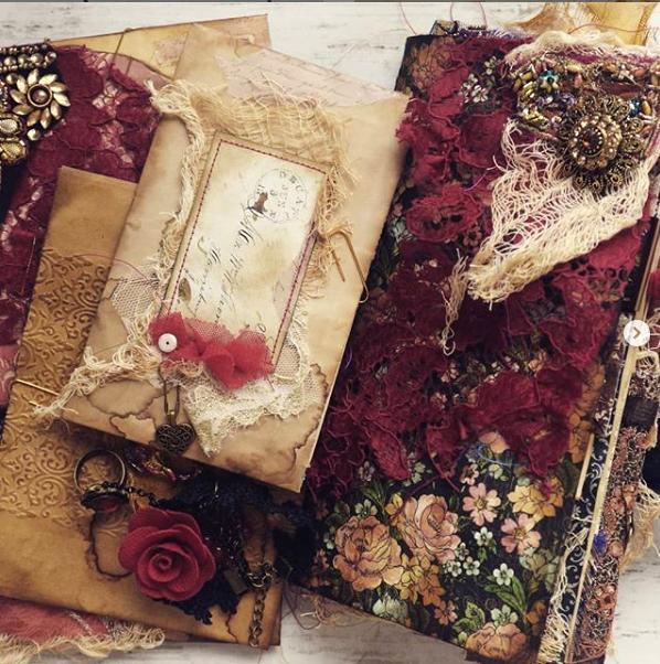 Luna Rozu Junk Journal