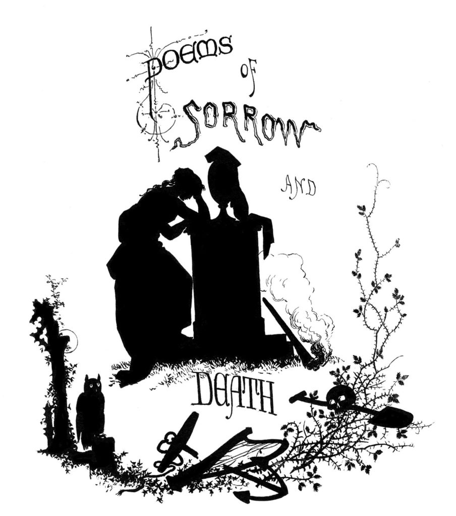 Graveyards and Gravestone Clipart silhouette spooky image